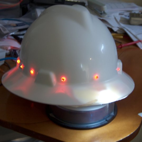 Re-inventing the headlamp… the Hat-lamp – Blogospheric Refraction