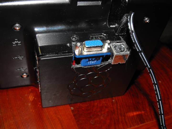 Case assembled with modifications